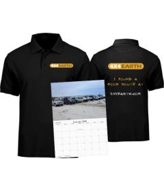 Polo Shirt and Calendar Bundle