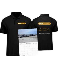 Polo Shirt and Calendar Bundle Preorder