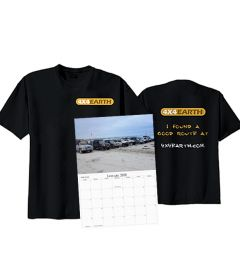 T-Shirt and Calendar Bundle Preorder
